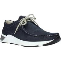 Čevlji  Moški Mokasini & Jadralni čevlji Valleverde 11872 Modra