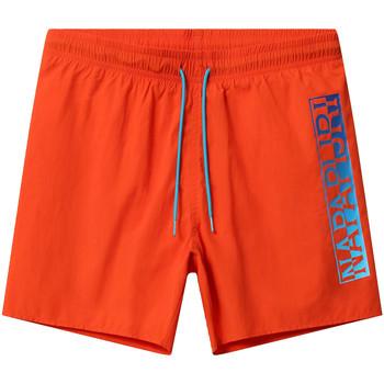 Oblačila Moški Kopalke / Kopalne hlače Napapijri NP0A4E1J Oranžna