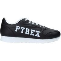 Čevlji  Moški Nizke superge Pyrex PY020208 Črna