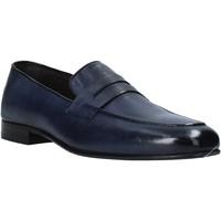 Čevlji  Moški Mokasini Exton 1020 Modra