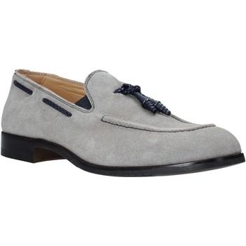 Čevlji  Moški Mokasini Exton 1111 Siva
