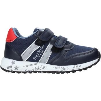 Čevlji  Dečki Nizke superge Fred Mello S20-SFK318 Modra