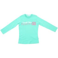 Oblačila Otroci Majice z dolgimi rokavi Melby 70C5615 Zelena