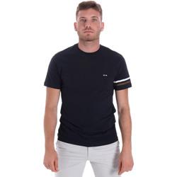 Oblačila Moški Majice s kratkimi rokavi Les Copains 9U9014 Modra