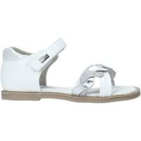 Čevlji  Deklice Sandali & Odprti čevlji Miss Sixty S20-SMS752 Biely