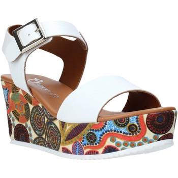 Čevlji  Ženske Sandali & Odprti čevlji Grace Shoes 07 Biely