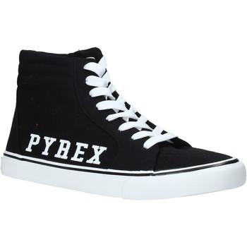 Čevlji  Moški Visoke superge Pyrex PY020203 Črna