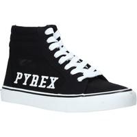 Čevlji  Ženske Visoke superge Pyrex PY020226 Črna