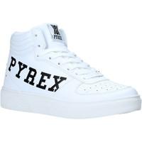 Čevlji  Ženske Visoke superge Pyrex PY020234 Biely