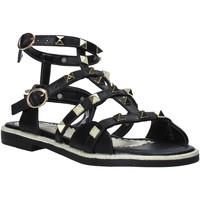 Čevlji  Deklice Sandali & Odprti čevlji Joli JT0079S Črna