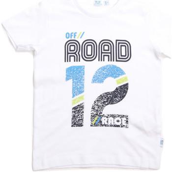 Oblačila Otroci Majice s kratkimi rokavi Melby 70E5544 Biely
