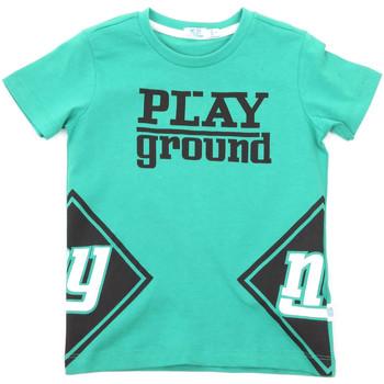 Oblačila Otroci Majice s kratkimi rokavi Melby 70E5544 Zelena