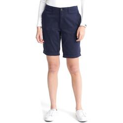 Oblačila Ženske Kratke hlače & Bermuda Superdry W7110007A Modra