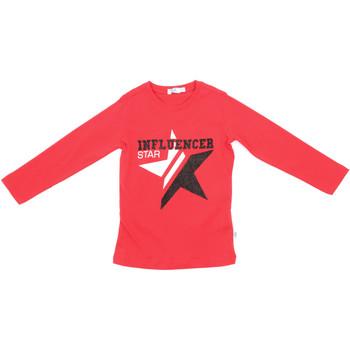 Oblačila Otroci Majice z dolgimi rokavi Melby 70C5615 Rdeča