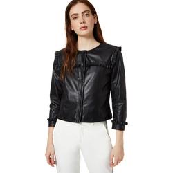 Oblačila Ženske Usnjene jakne & Sintetične jakne Liu Jo WA0153 E0392 Črna