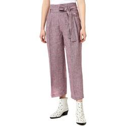 Oblačila Ženske Lahkotne hlače & Harem hlače Liu Jo FA0211 T4185 Vijolična