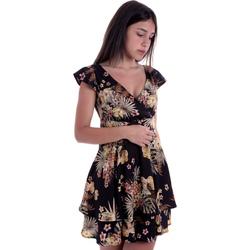 Oblačila Ženske Kratke obleke Liu Jo FA0303 T4031 Črna