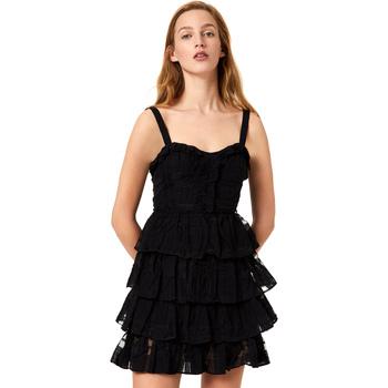 Oblačila Ženske Kratke obleke Liu Jo FA0312 T4190 Črna