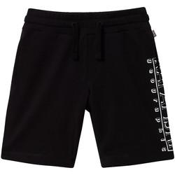 Oblačila Otroci Kratke hlače & Bermuda Napapijri NP0A4E4I Črna