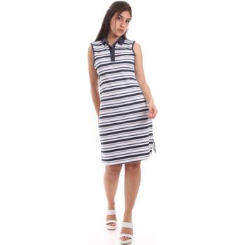 Oblačila Ženske Kratke obleke Ea7 Emporio Armani 3HTA58 TJI3Z Modra