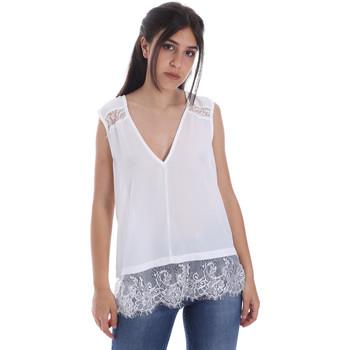 Oblačila Ženske Topi & Bluze Gaudi 011FD45055 Biely