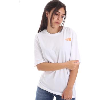 Oblačila Ženske Majice s kratkimi rokavi The North Face NF0A4M5QP9V1 Biely