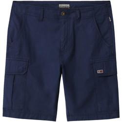 Oblačila Moški Kratke hlače & Bermuda Napapijri NP0A4E1K Modra