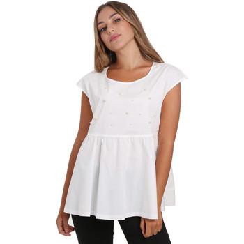 Oblačila Ženske Topi & Bluze NeroGiardini E062761D Biely