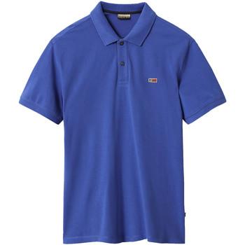 Oblačila Moški Polo majice kratki rokavi Napapijri NP0A4EGD Modra