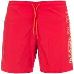 Oblačila Moški Kopalke / Kopalne hlače Napapijri NP0A4E1J Rdeča
