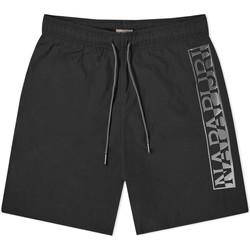 Oblačila Moški Kopalke / Kopalne hlače Napapijri NP0A4E1J Črna