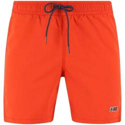 Oblačila Moški Kopalke / Kopalne hlače Napapijri NP0A4EB2 Oranžna