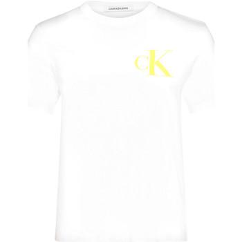 Oblačila Ženske Majice s kratkimi rokavi Calvin Klein Jeans J20J213562 Biely