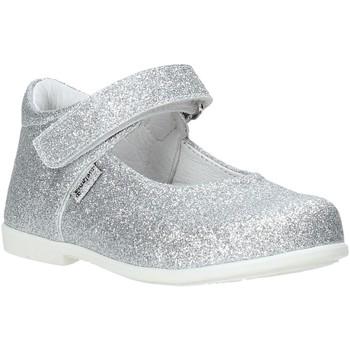 Čevlji  Deklice Balerinke Melania ME1460B0S.B Srebro
