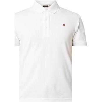 Oblačila Moški Polo majice kratki rokavi Napapijri NP0A4E2M Biely