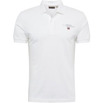 Oblačila Moški Polo majice kratki rokavi Napapijri NP0A4E2L Biely