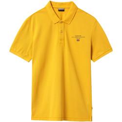 Oblačila Moški Polo majice kratki rokavi Napapijri NP0A4EGC Rumena