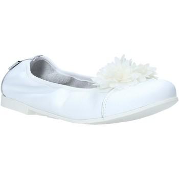 Čevlji  Deklice Balerinke Melania ME6104F0S.A Biely