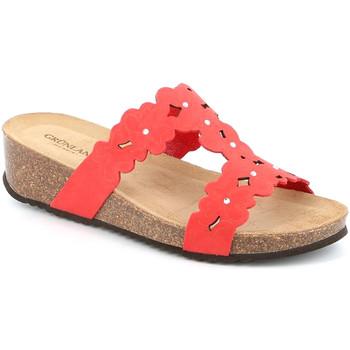 Čevlji  Ženske Natikači Grunland CB2491 Rdeča