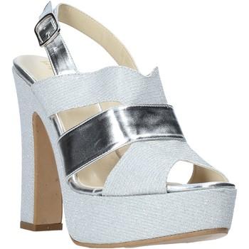 Čevlji  Ženske Sandali & Odprti čevlji Esther Collezioni ELE 084 Srebro