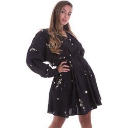 Oblačila Ženske Kratke obleke Liu Jo FA0082 T5976 Črna