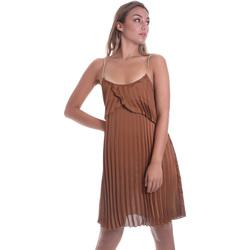 Oblačila Ženske Kratke obleke Liu Jo FA0032 T5957 Rjav