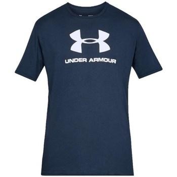 Oblačila Moški Majice s kratkimi rokavi Under Armour Sportstyle Logo Tee Mornarsko modra