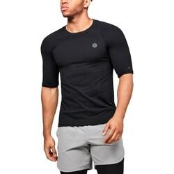Oblačila Moški Majice s kratkimi rokavi Under Armour UA Rush HG Seamless Compression Črna