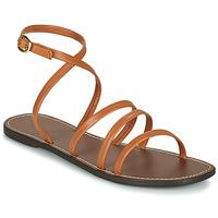 Čevlji  Ženske Sandali & Odprti čevlji Kickers KICKNICE Kamel