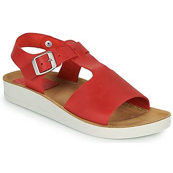 Čevlji  Ženske Sandali & Odprti čevlji Kickers ODILOO Rdeča
