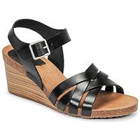 Čevlji  Ženske Sandali & Odprti čevlji Kickers SOLYNIA Črna