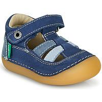 Čevlji  Dečki Sandali & Odprti čevlji Kickers SUSHY Modra