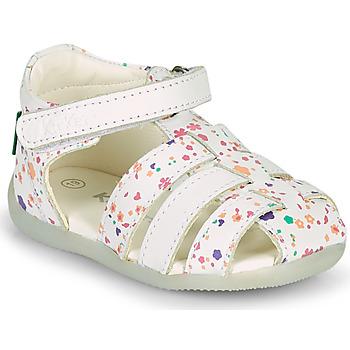 Čevlji  Deklice Sandali & Odprti čevlji Kickers BIGFLO-2 Bela