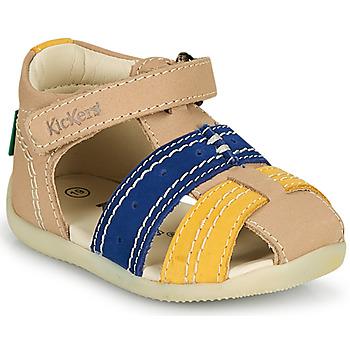 Čevlji  Dečki Sandali & Odprti čevlji Kickers BIGBAZAR-2 Modra